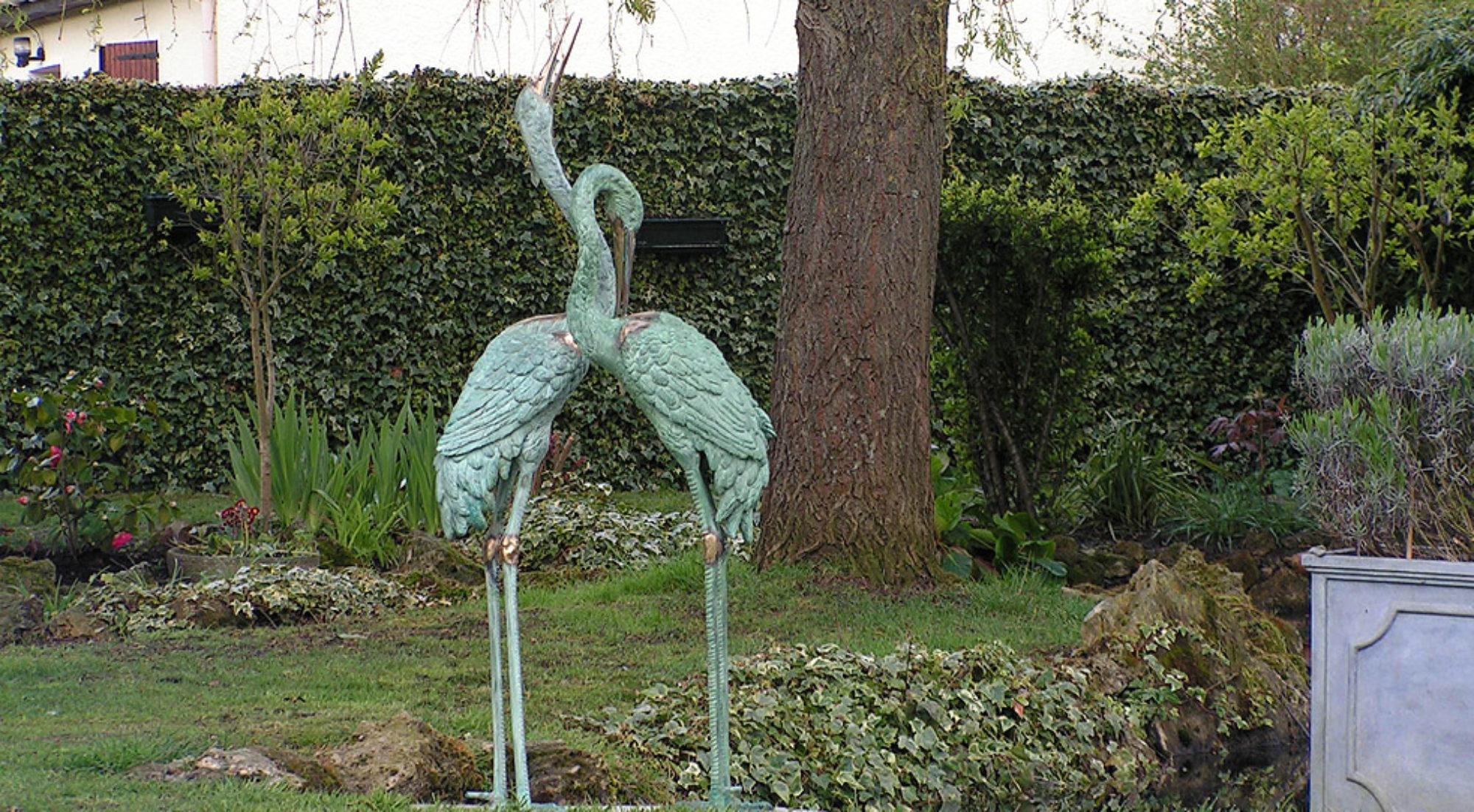Sculptures d'animaux en bonze